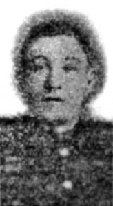 The grainy image of Thomas Collins from the South Wales Daily Post of Thursday 13 July 1916. Reproduced courtesy South Wales Daily Post.
